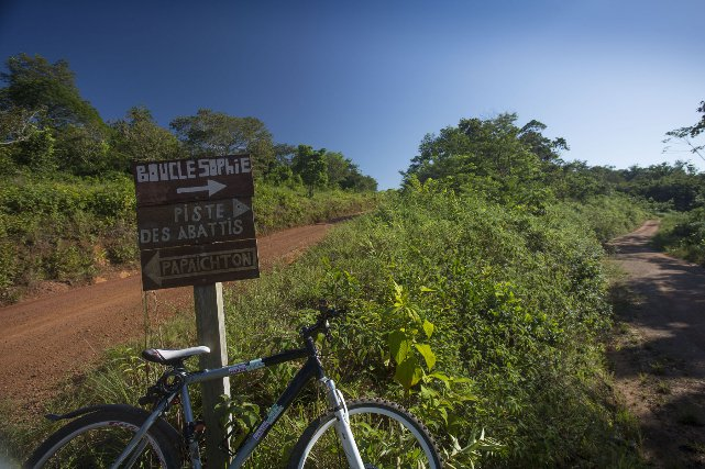L'Office du tourisme vous propose des VTT à la location pour parcourir les sentiers qui rayonnent autour de Maripasoula.