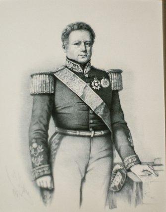 Le Général Soares de Andréa (1781-1858) en 1836.