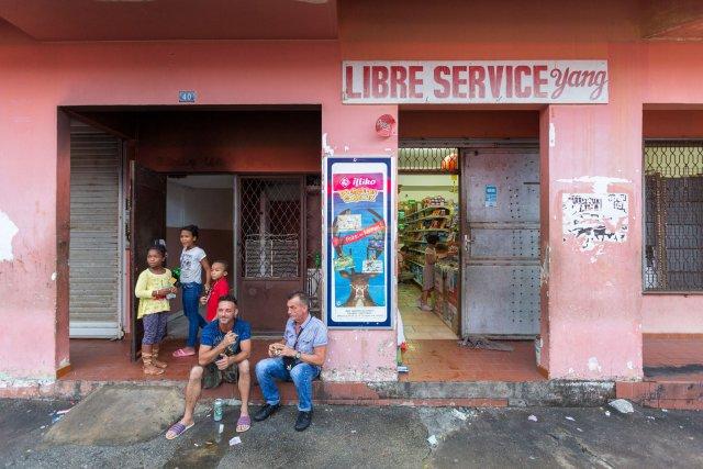 LS Yang, rue du 14 juillet à Cayenne.