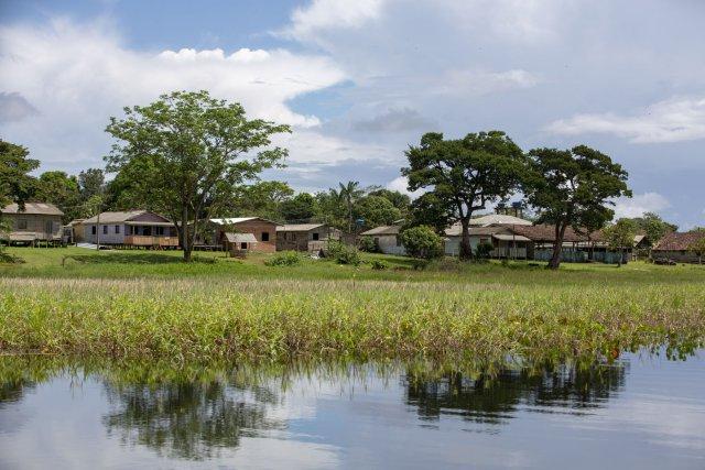 Le village de Santa Isabel