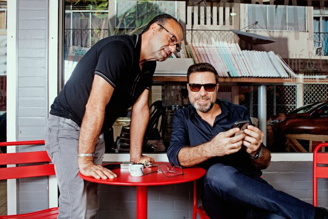 Georges et Tony Chamchoun