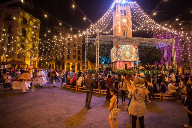 Jour de fête à Beyrouth
