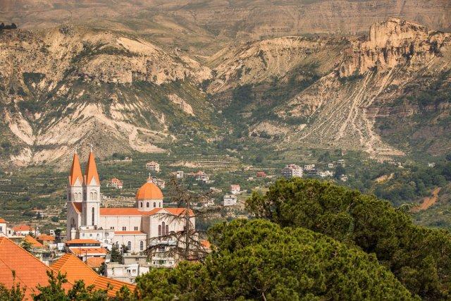 Eglise maronite dans la vallée