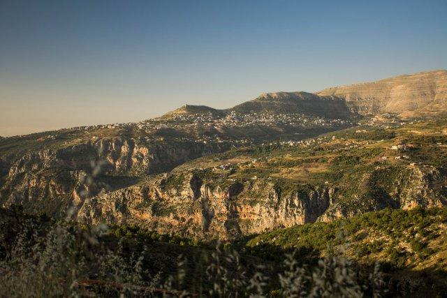La vallée de Qadisha, au nord du Liban. Juin 2018