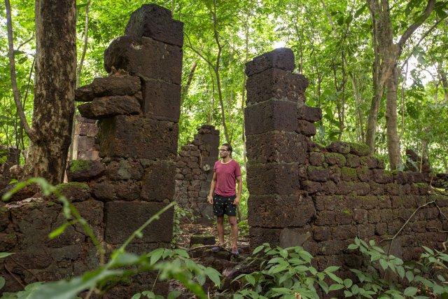 Ruines de la montagne d'Argent.