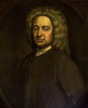 William Greene (1695-1758), gouverneur de la colonie de Rhode Island en 1744 . Cette colonie avait établi ses propres tribunaux maritimes pour juger les affaires de piraterie ou de privateering (corsaires).