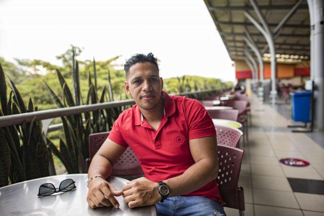 Alejandro Vivas, de retour à Cali.