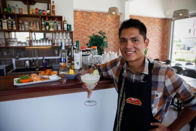 Miguel Livon, gérant du restaurant «La Maison péruvienne» implanté à Cayenne et à Kourou.