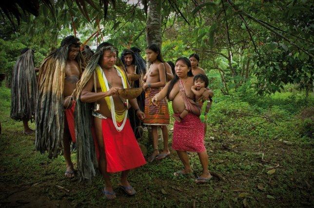 La consommation de cachiri par tous, fait partie intégrante de la danse.