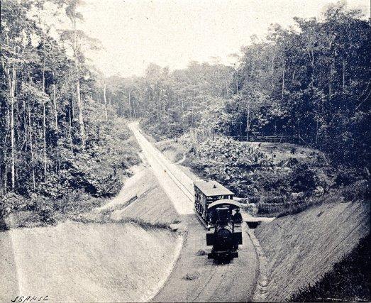 Au début du XXe siècle, le matériel roulant du bagne comprenait des wagons à marchandise, des voitures de voyageurs et trois petites locomotives Decauville, l'une de 12 tonnes et deux de 6 tonnes.