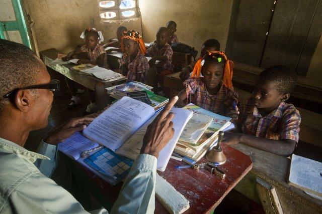 École primaire non loin de Fond-des-Nègres.