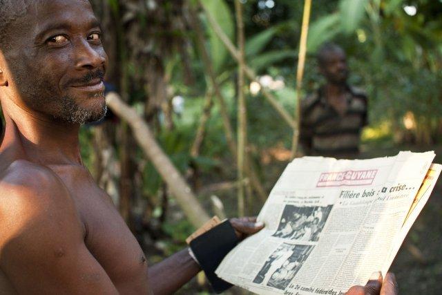 Cérôme et son vieux France-Guyane