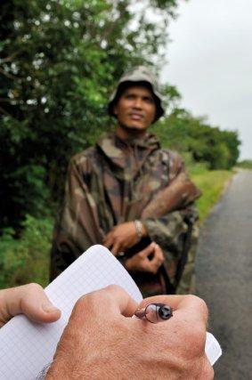 L'ONCFS mène des enquêtes sur la chasse en Guyane.