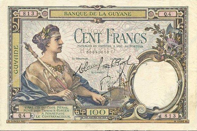 Cent Francs, 1927