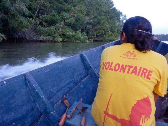 A la recherche d'autre site le long de la crique Coswine