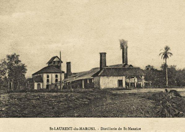 Usine du bagne de St-Maurice.