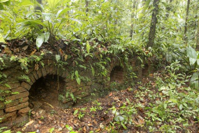 Four à manioc, habitation La Reconnaissance