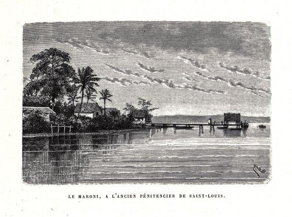 Image extraite de J. Crevaux, Voyage d'exploration dans l'intérieur des Guyanes (1877), Le Tour du Monde, 1879.