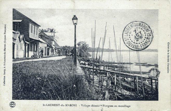 village chinois. Saint-Laurent, début XXe siècle.