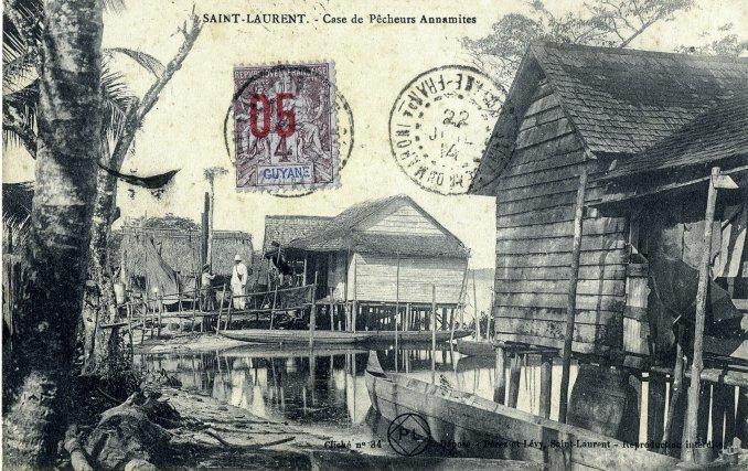 Village Chinois, Saint-Laurent, début XXe siècle.