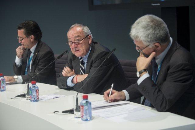 Jean-Jacques Dordain directeur général de l'Agence spatiale européenne (ASE)