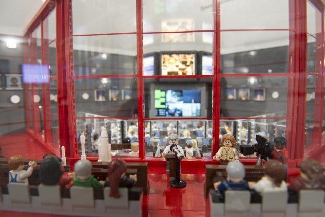 La salle Jupiter en Lego !