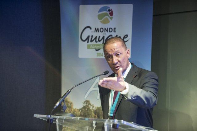 Rodolphe ALEXANDRE, président du conseil régional de la Guyane.