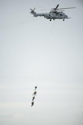 Manoeuvre de l'armée de l'air francaise.