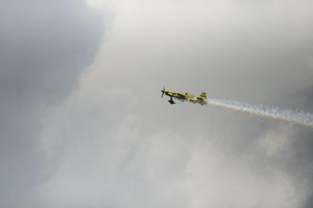 20 juin 2013, Paris-le Bourget Aéroport Paris-le Bourget Région Parisienne. L'XtremeAir XA41 est un monoplace de voltige construit par la société allemande XtremeAir. Premier vol 19 mai 2006.