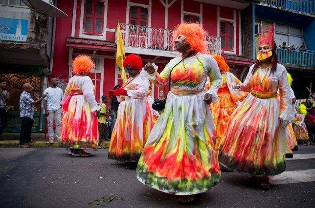 Défilé du Carnaval de Cayenne du 29 janvier 2012