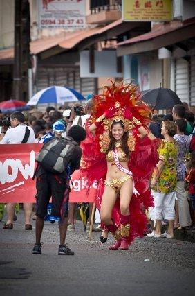 Défilé du Carnaval de Cayenne du 19 février 2012