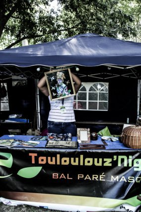 Le stand de l'Association Toulouznight