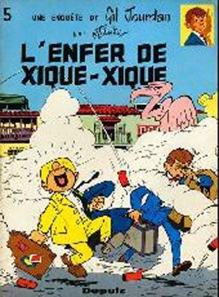 Une enquête de Gil Jourdan - L'enfer de Xique-Xique (1967)