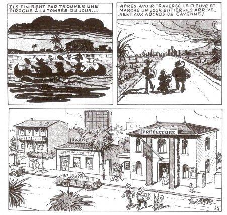 Les Pieds Nickelés en Guyane (1976)