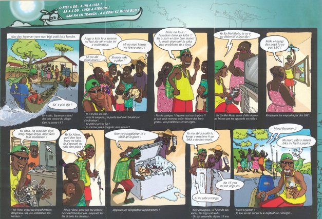 L'émergence d'une BD guyanaise Fayaman