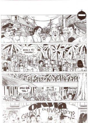 L'émergence d'une BD guyanaise Lavantir met doko (1999)