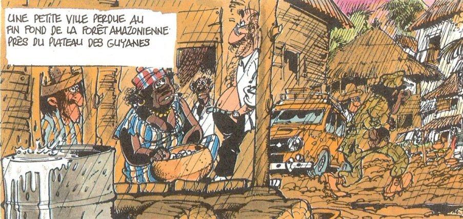 Les Guyanes imaginaires Xique-Xique (Gil Jourdan - 1987)