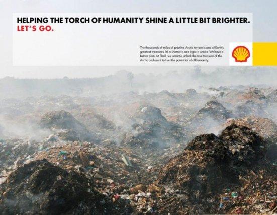 « Porter un peu plus haut le flambeau de l'humanité »