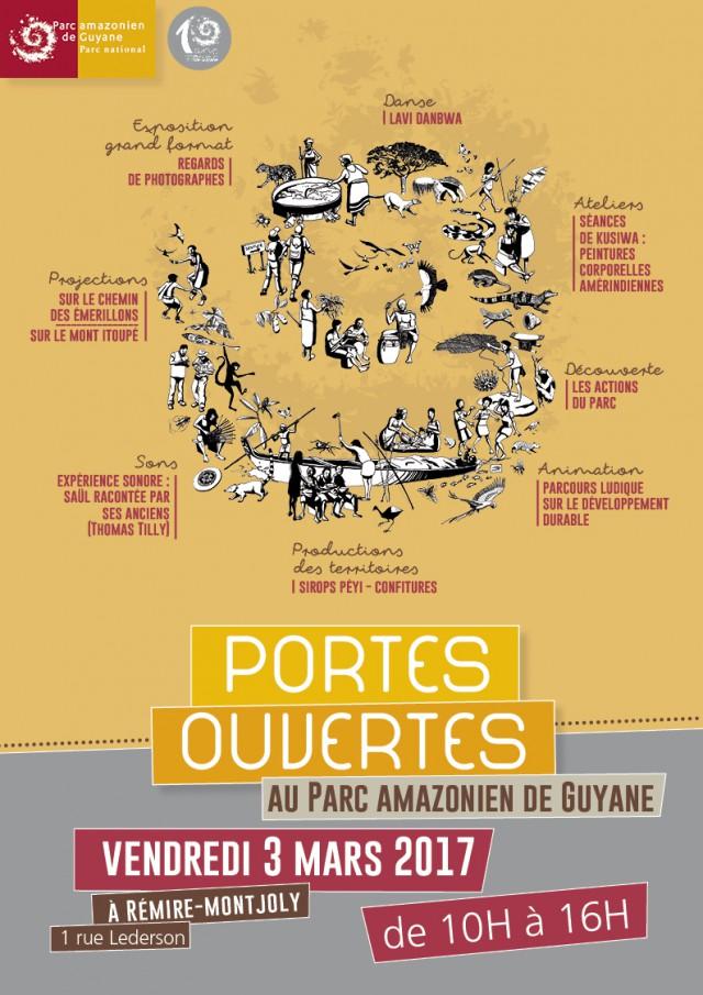 Journée portes ouvertes :au Parc amazonien de Guyane