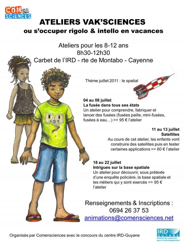 Animations : s'occuper rigolo & intello en vacances du 04 au 22 juillet