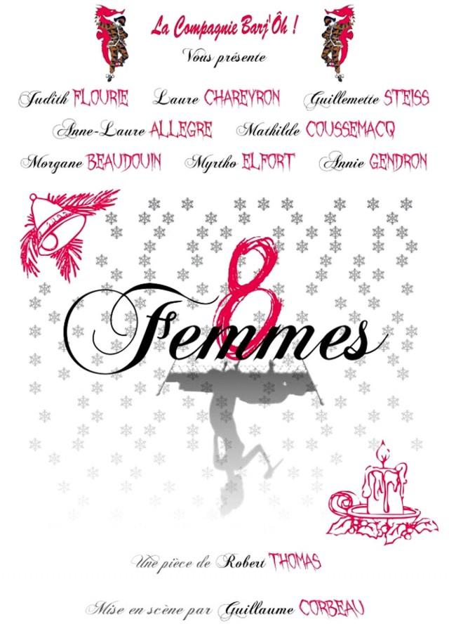 """Théâtre : """"8 Femmes""""à Macouria"""