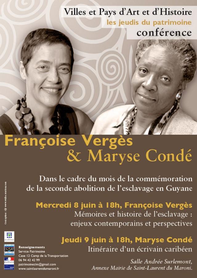 conférence : Les mémoires de l'esclavage