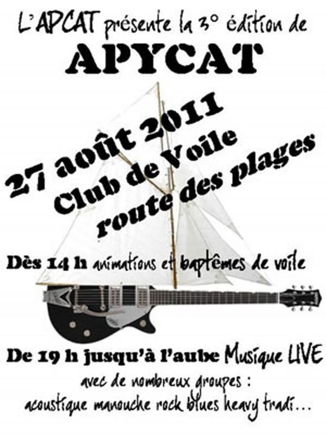 voile & lives : 3ème édition de l'Apycat le 27 Août