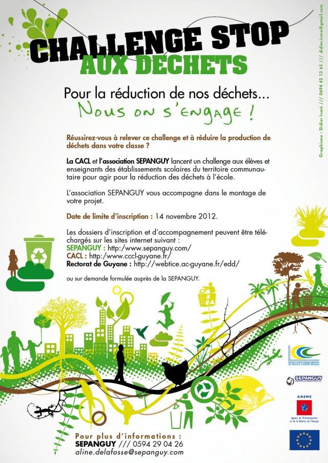 Ecocitoyenneté : Challenge Stop aux Déchets
