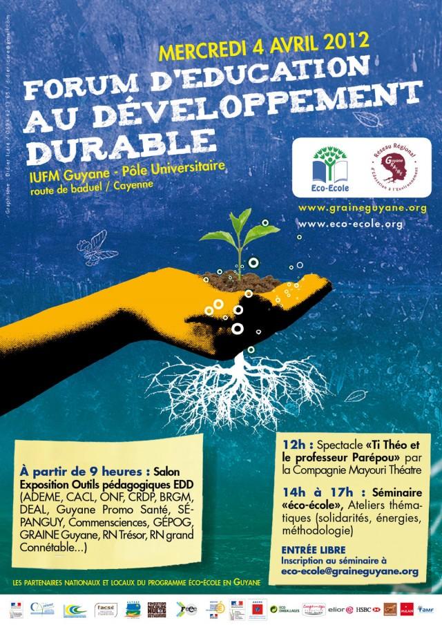 Ecocitoyenneté : Forum d'éducation au développement durable à Cayenne