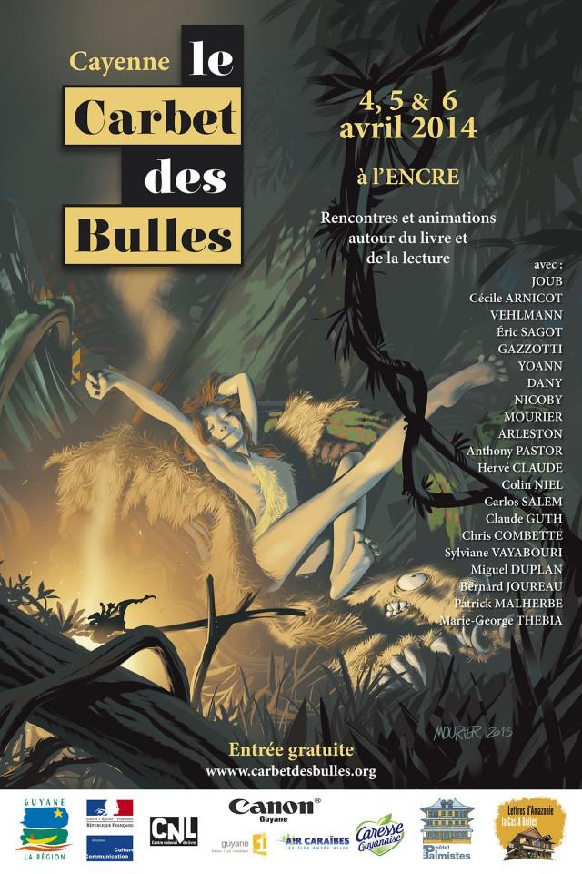 Festival BD Carbet des Bulles : avec la participation de Une saison en Guyane