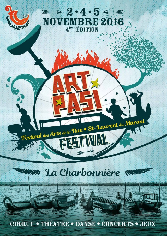 Festival Art Pasi 2016 : Les arts de la rue à la Charbonnière