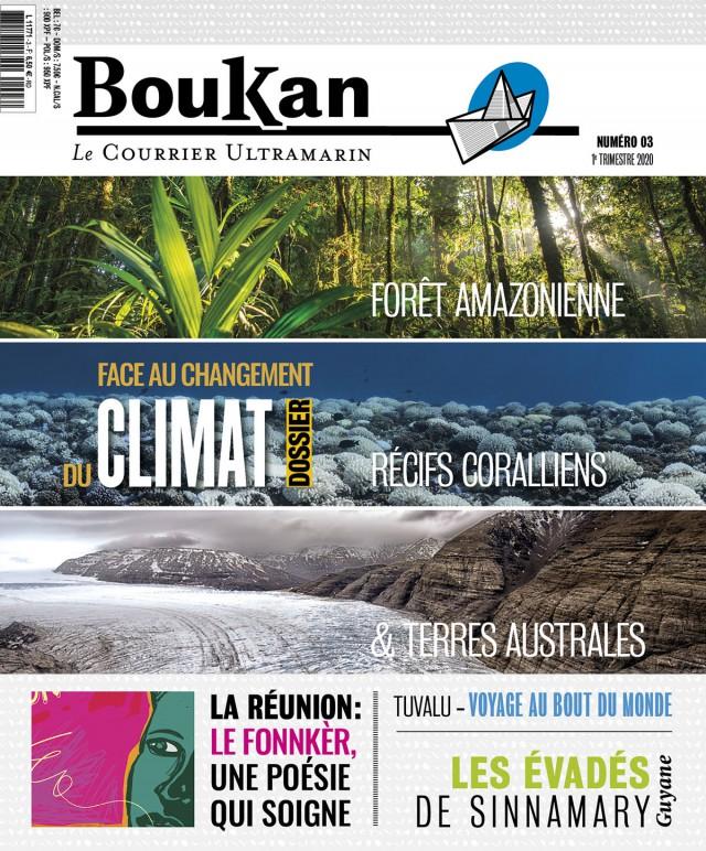 Sortie du nouveau numéro de Boukan : Disponible en kiosque le 21 février