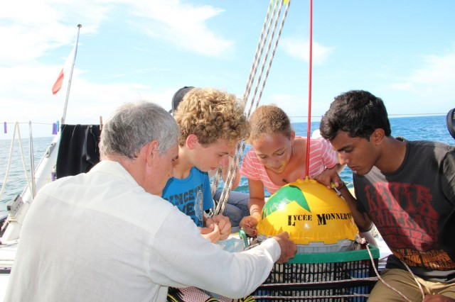 Education : 1ère Classe de mer scientifique en Guyane, du 15 au 20 octobre 2012
