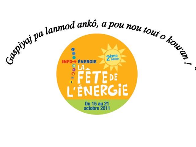 fête de l'énergie : Une marche pour l'énergie